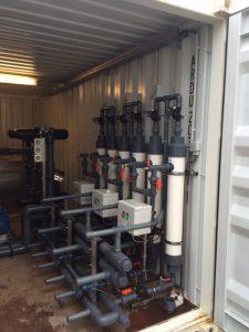 Reinigen van waterleidingnet